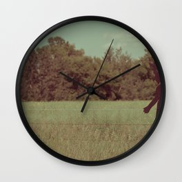 When the Girl meets the Boy Wall Clock