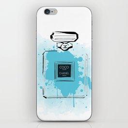 Blue Perfume #2 iPhone Skin