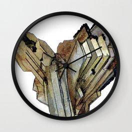 Vintage Rock Crystal Wall Clock