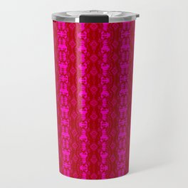 2107 Pattern as sprouted pink Travel Mug