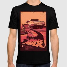 Mad Max Black Mens Fitted Tee LARGE