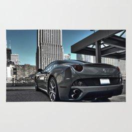 Ferrari in Chicago Rug