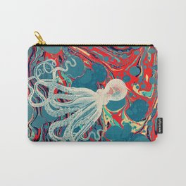 Vintage Octopus Carry-All Pouch
