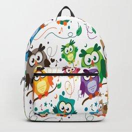 CUTE PLAYFUL OWL Backpack
