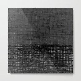 platno (gray) Metal Print