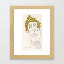 i was hu Framed Art Print