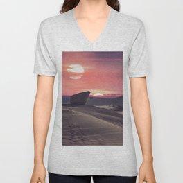 Desert Planet Unisex V-Neck