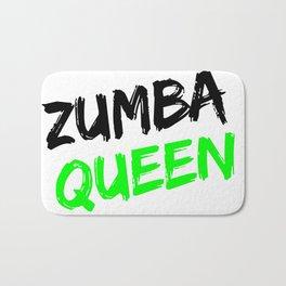 Zumba Queen (Green) Bath Mat