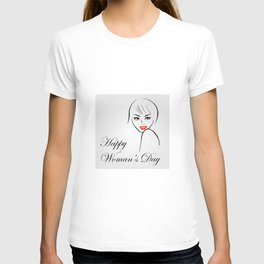 Happy womens day- she persisted gifts T-shirt