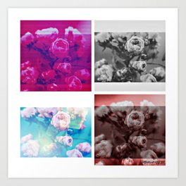 Flower of Substance Art Print