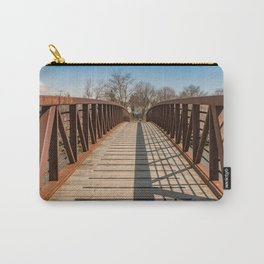 Foot bridge and shadows Carry-All Pouch