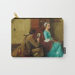 THE SILHOUETTE by NORMAN ROCKWELL Carry-All Pouch