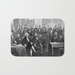 Our Presidents 1789 - 1881 Bath Mat