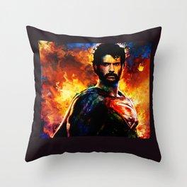 beardman Throw Pillow