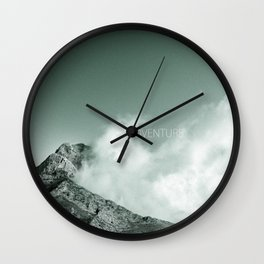 """Adventure at the mountain"" Wall Clock"