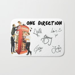 One Direction - Phone Booth Bath Mat