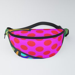 Lucky Heart SQuare Fanny Pack
