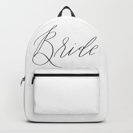 Lettered Bride Backpack