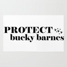 Protect Bucky Barnes Rug
