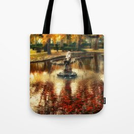 The Bath of the Nymph Tote Bag