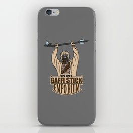 Urk Urk's Gaffi Stick Emporium iPhone Skin
