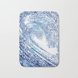 Pacific Waves IV Bath Mat