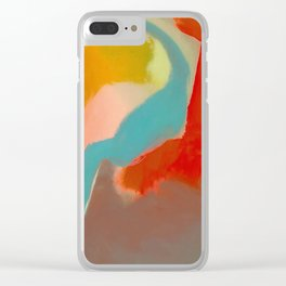 Hot and Cold Clear iPhone Case