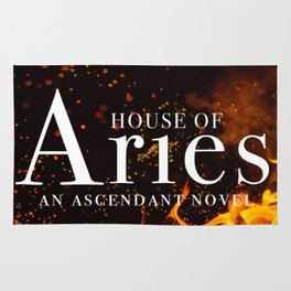 House of Aries Fire Rug