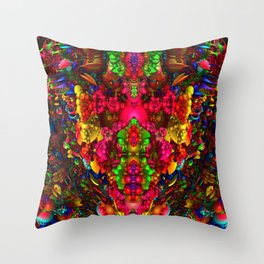Darkstar Ph Throw Pillow