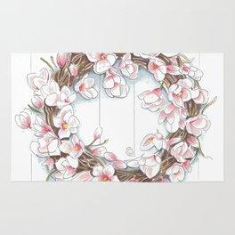Spring Wreath Rug