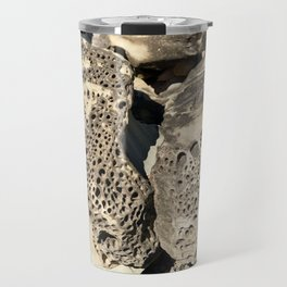 Stone Lace Wings Rock Boulder Washington Northwest Geology Geologist Sandstone Chuckanut Formation Travel Mug