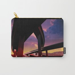 Sci-Fi Freeway Carry-All Pouch