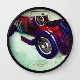 Classics Car XII Wall Clock