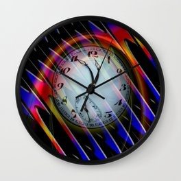 Abstract - Perfection- Time is running Wall Clock