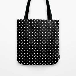 Black and white polka dot 2 Tote Bag