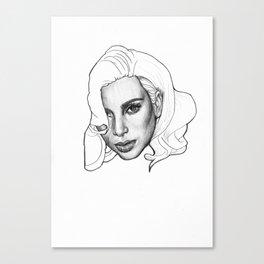 Kim Kardashian Canvas Print