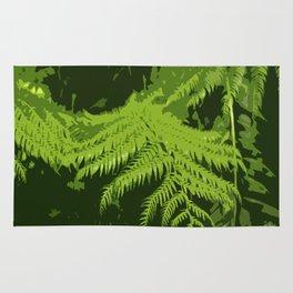 Forest Ferns Rug