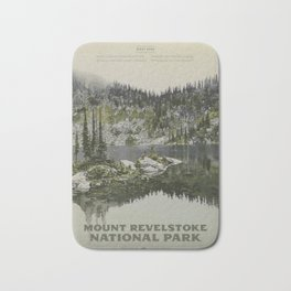 Mount Revelstoke National Park Bath Mat