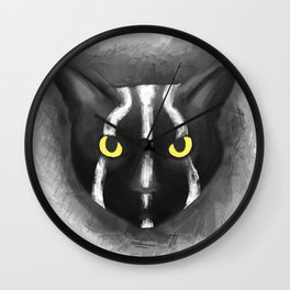 Rise of the planet of the cats Wall Clock