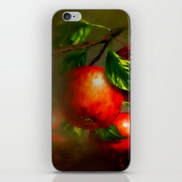 JUICY APPLES iPhone Skin