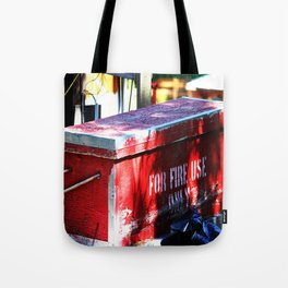 For Fire Use Only Tote Bag