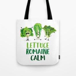 Lettuce Romaine Calm Tote Bag