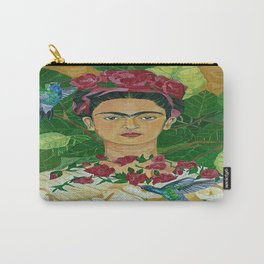Frida In Heaven Carry-All Pouch