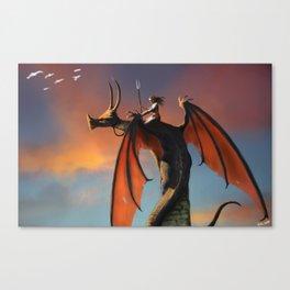 sky guardians  Canvas Print