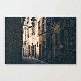 Old World Streets of Sarlat Canvas Print