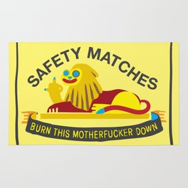 Unsafe Matches Rug