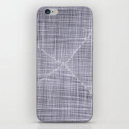 Ink Weaves: White Quartz iPhone Skin