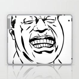Face Louis Armstrong Laptop & iPad Skin