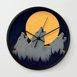 Midnight Sound Wall Clock