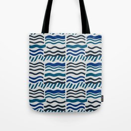 Waves, Cool Tote Bag